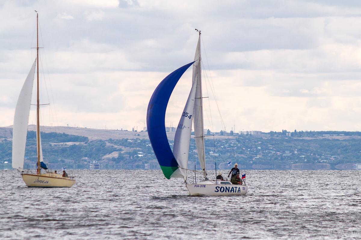 Яхты на Волге 21