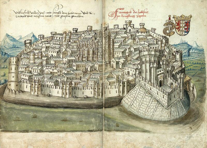 Фамагуста. Город. 1487 год