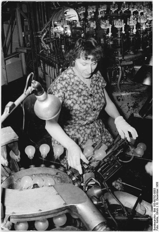 VEB Berliner Glьhlampen-Werke, Exportplan