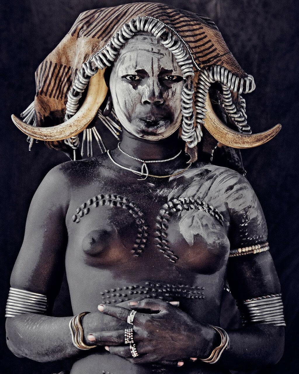 Джимми Нельсон. Проект «Пока они не исчезли». Эфиопия. Народность Мурси