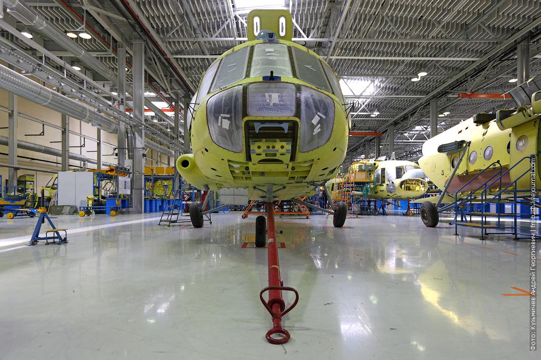 как делают вертолеты на Казанском вертолетном заводе