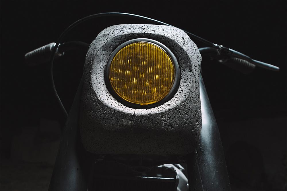 Honda из камня