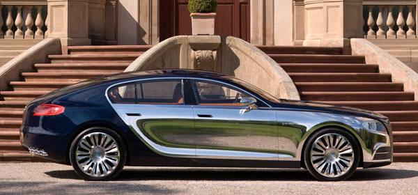 Возможно Bugatti Galibier станет серийной моделью