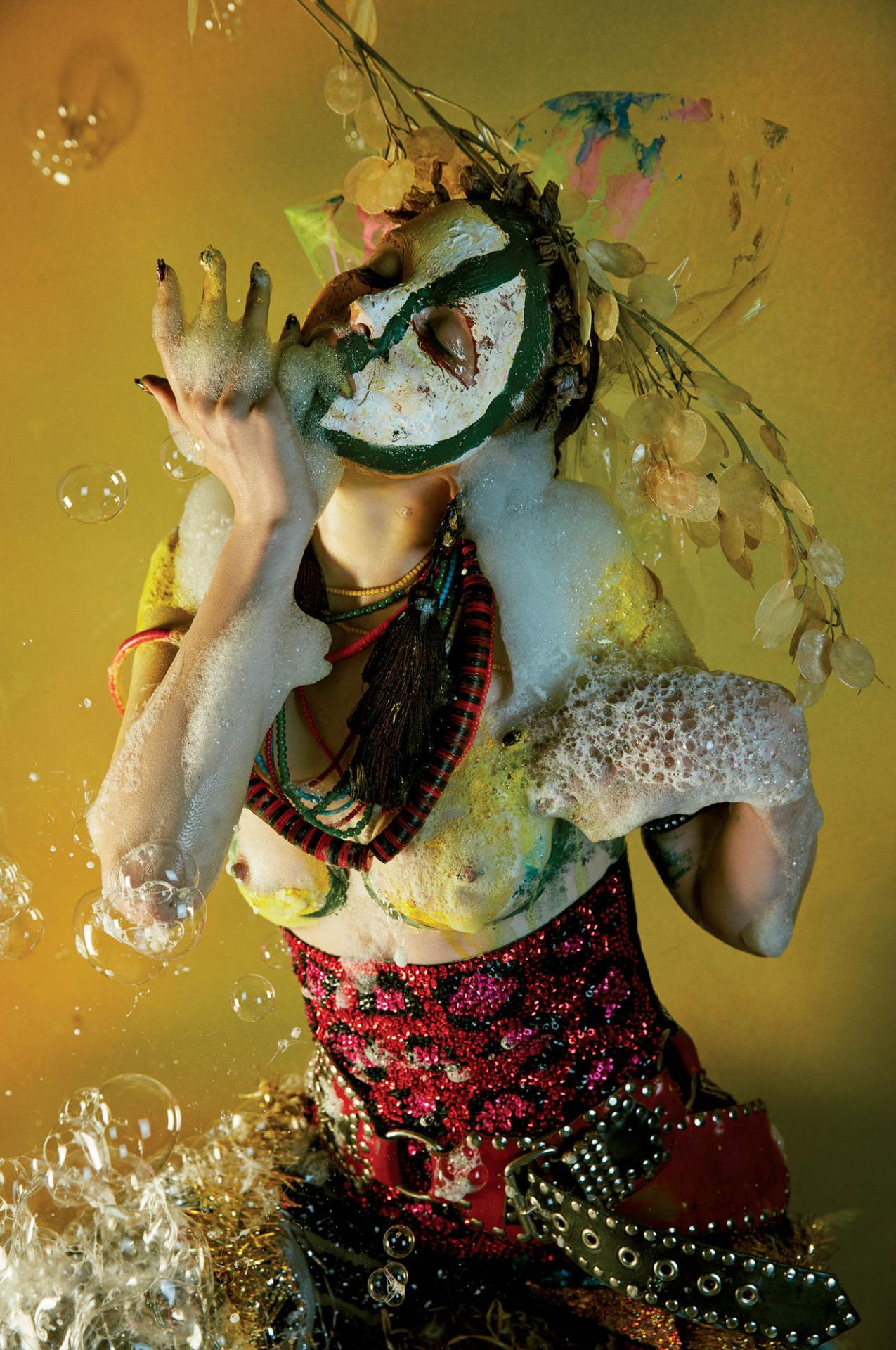 Jungle Beat / V Magazine September 2016 - Ali Michael / Mario Sorrenti