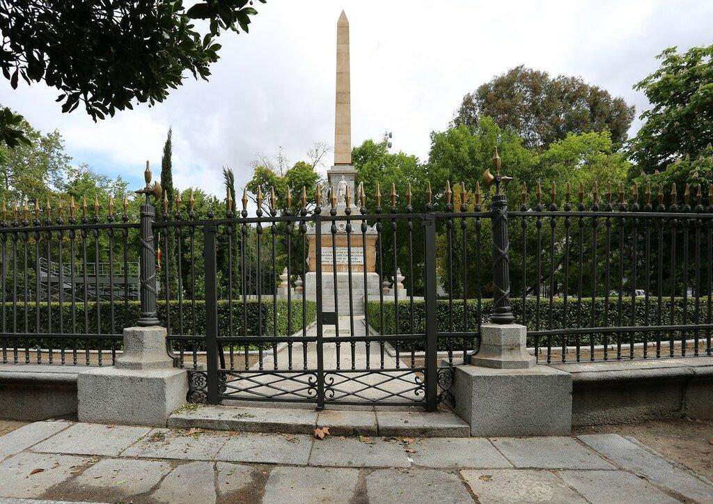Мадрид. Памятник павшим за Испанию (Monumento a los Caídos por España)