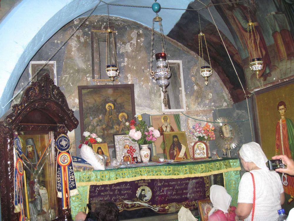 Святая Земля.Монастырь Георгия Хозевита.Святые Мощи Хозевита Нового.