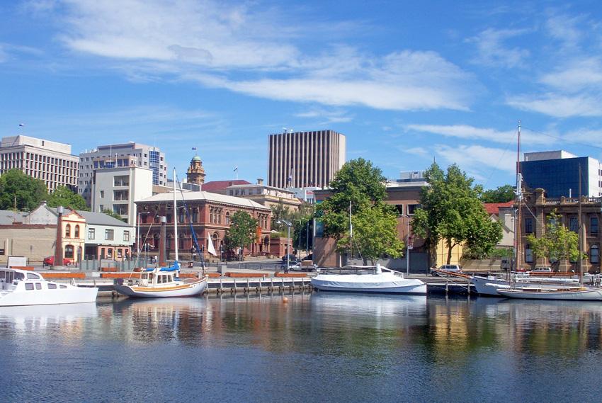 8. Хобарт, Австралия Хобарт был основан в 1804 году и по сей день этот административный центр Тасман