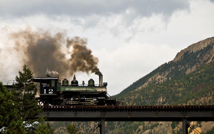 4. Кольцевая железная дорога Джорджтауна, США Длина кольцевой железной дороги Джорджтаун составляет