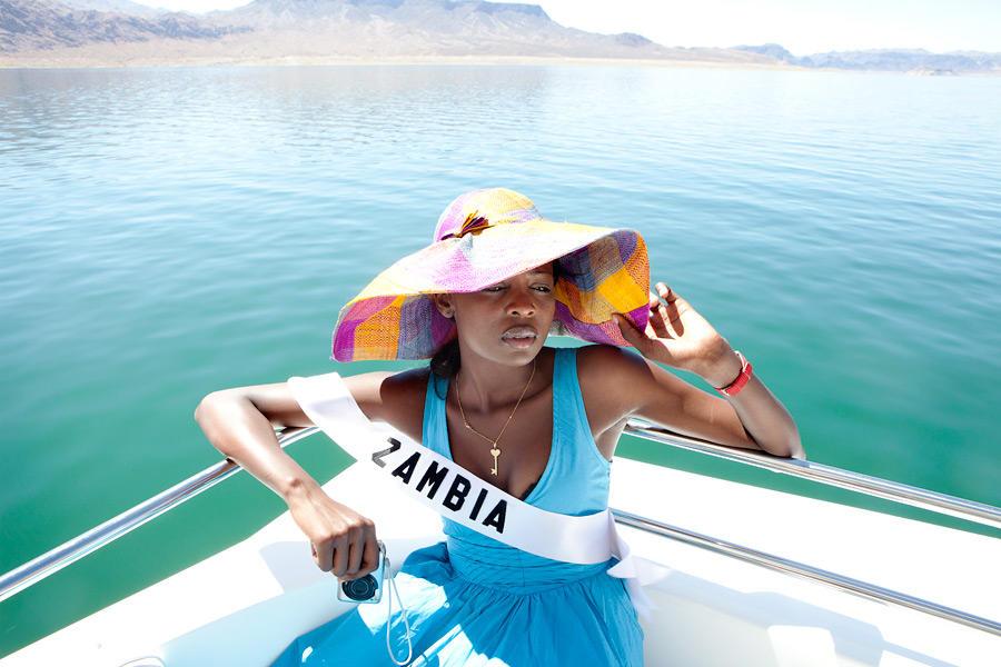 8. «Мисс Замбия».