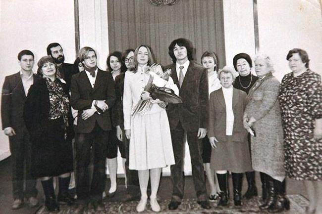 © Алексей Вишня  Виктор иМарианна поженились через 3года после знакомства, вфеврале 1985го