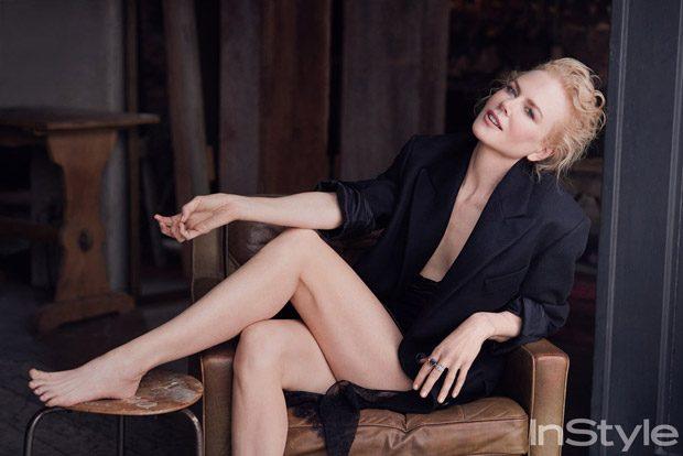 Николь Кидман в InStyle Magazine