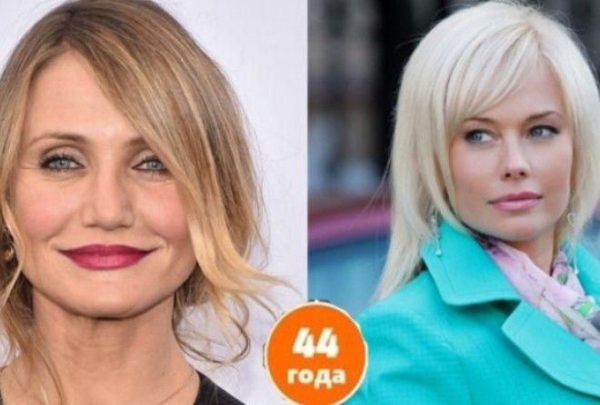 Вот как выглядят знаменитости одного возраста (16 фото)