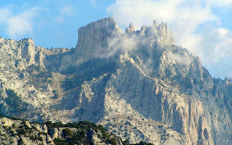 Гора Ай-Петри Одно из самых популярных среди туристов место на карте Крымского полуострова. Когда-то