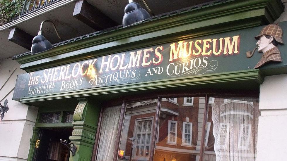 Фото: © Flickr / Elliott Brown Ещё один пример — дом Шерлока Холмса в Лондоне, именно в нём, якобы,