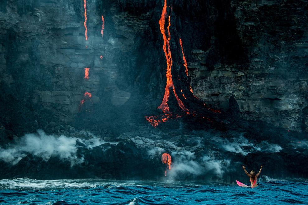 3. Лава образуется при извержении вулканом магмы на поверхность Земли. Вследствие остывания и взаимо