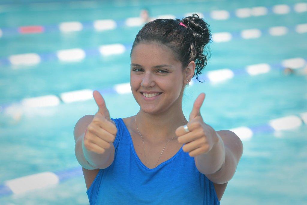 Украинка Зевина показала рекордный результат наКубке мира поплаванию