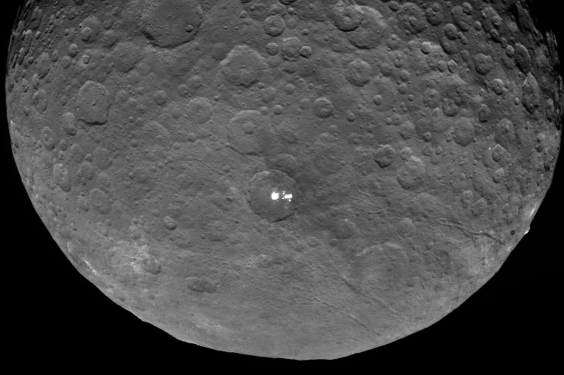 Карликовая планета Церера изучена на100% — Ученые