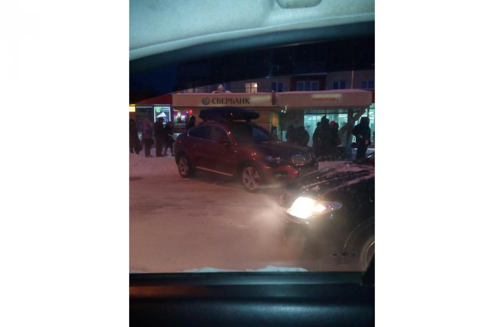 ВКемерове наостановку вылетела BMW, есть пострадавшие
