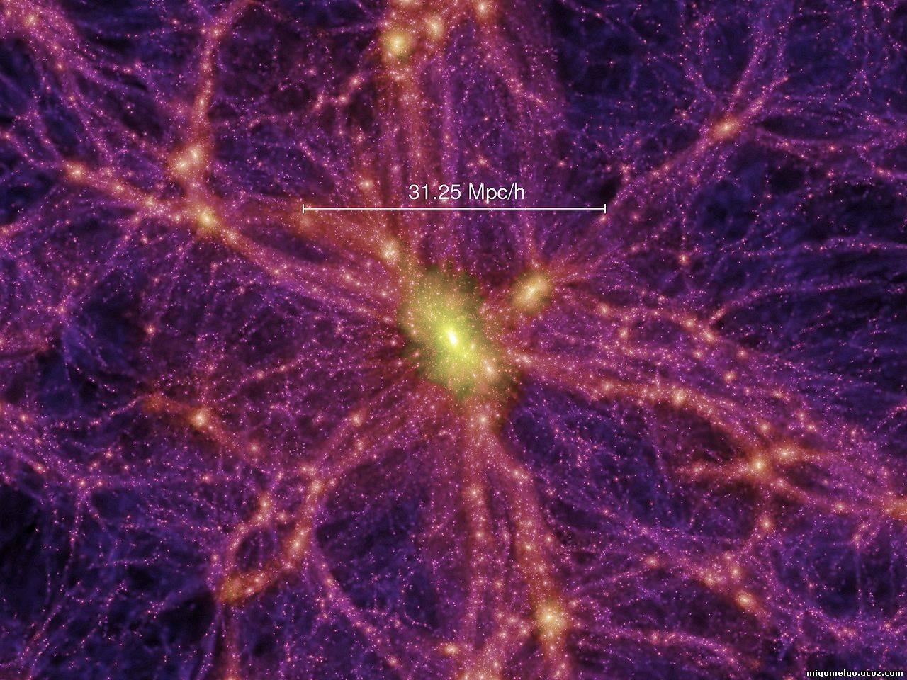 Астрономы впервый раз получили фотографии «нитей» черной материи