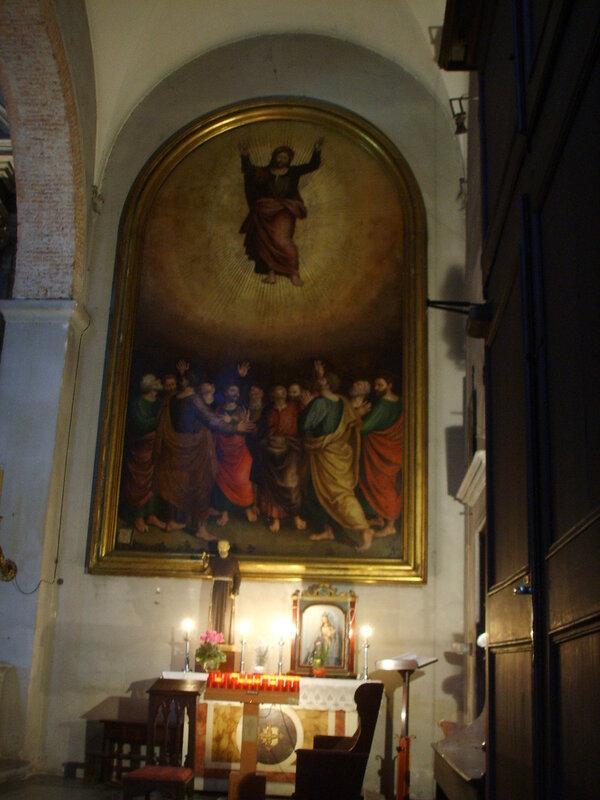 Chiesa di san salvatore, lucca 07 trasfigurazione
