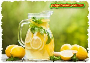 Лимонад на минеральной воде
