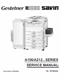 service - Инструкции (Service Manual, UM, PC) фирмы Ricoh - Страница 2 0_1b1f44_9243d148_orig