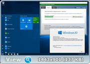 Microsoft Windows 10 Pro 14393.105 x86-x64 RU TabletPC LITE