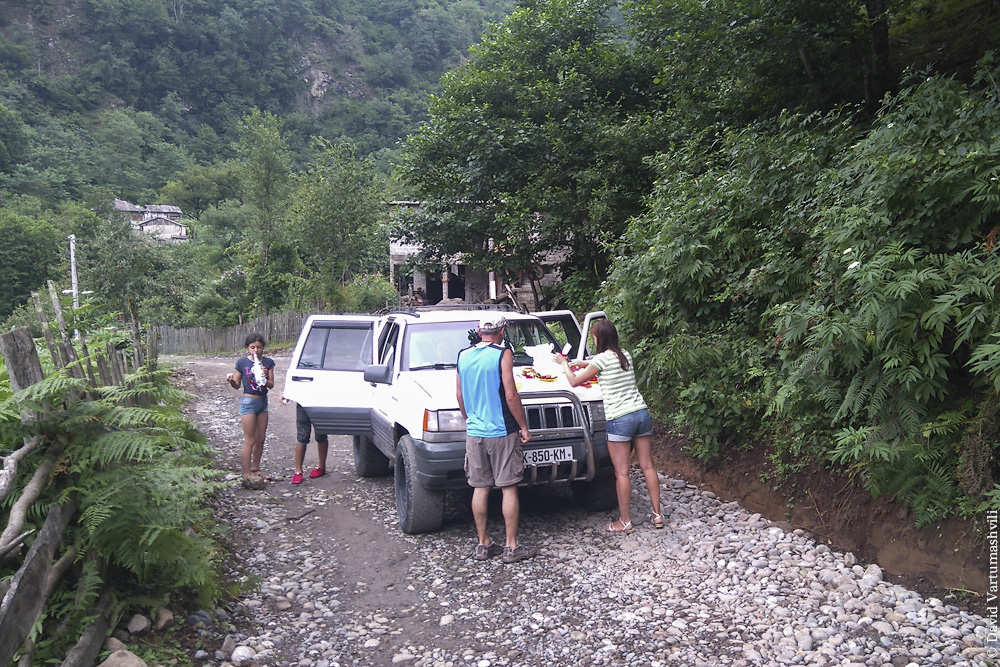 Ущелье реки Мачахела