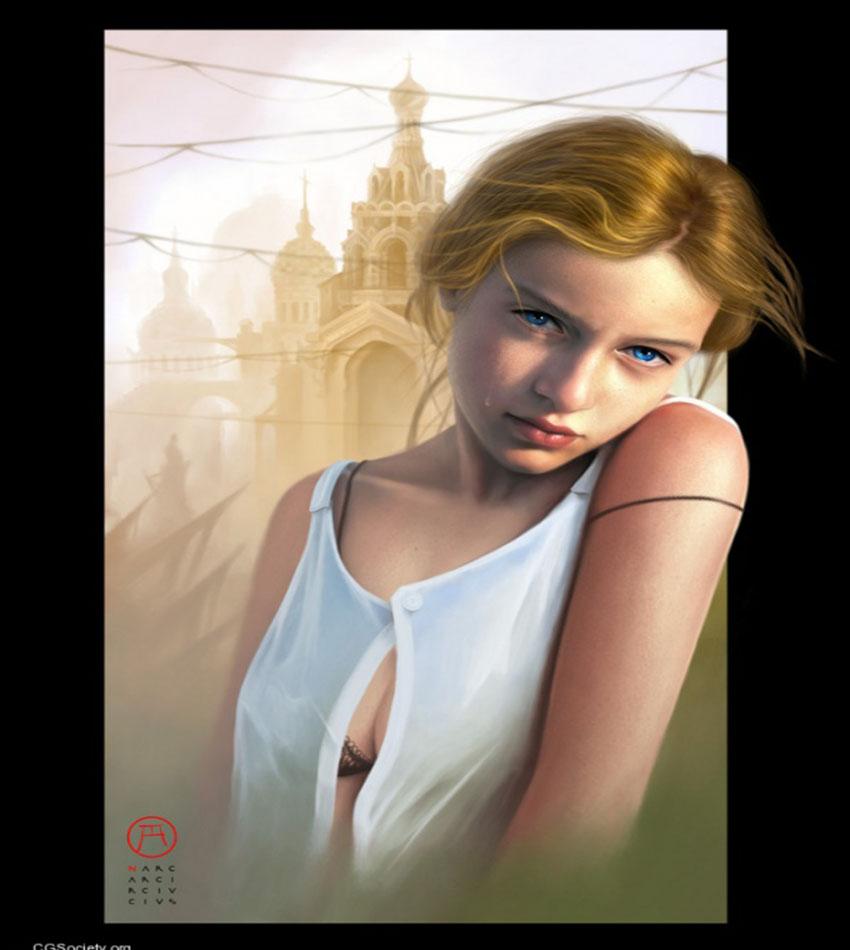 Digital Paintings by Corrado Vanelli