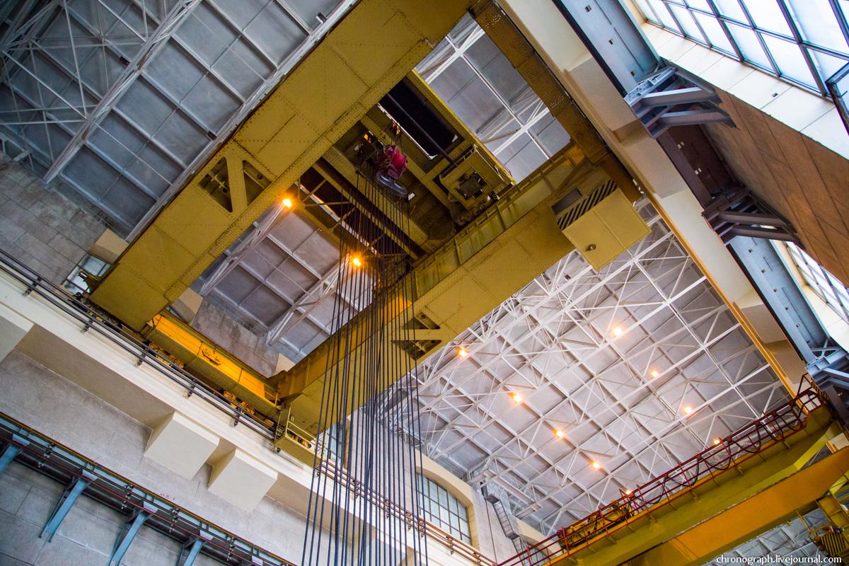 Монтаж рабочего колеса гидроагрегата №7 на Жигулёвской ГЭС 0_112357_dda80d20_orig