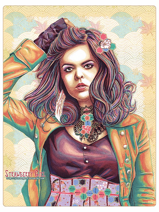 Amazing Portrait Illustrations by Jitterbuglove