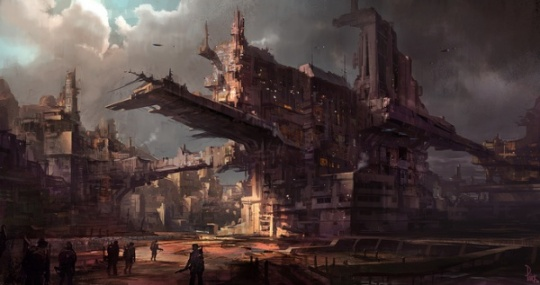 Futuristic City Artworks