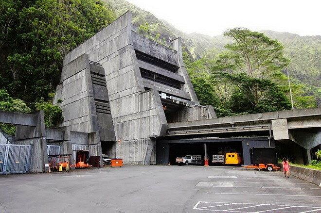 Шоссе Н-3. о.Оаху, Гавайи