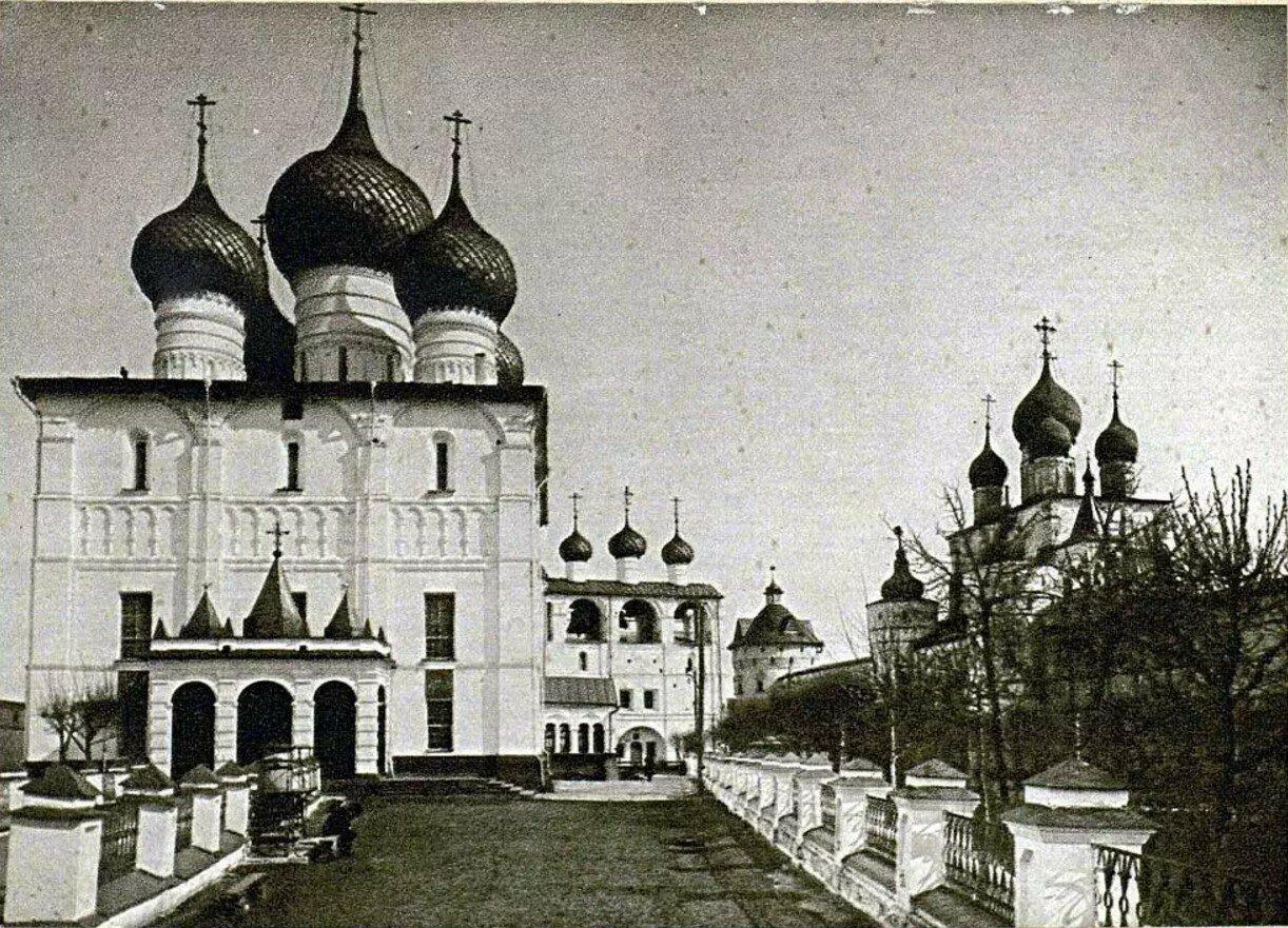 Кремль. Успенский собор. Настоящий вид второй половины XVII-го века