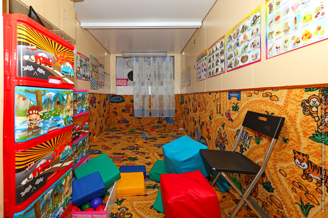 теплоход Дмитрий Фурманов детская игровая комната