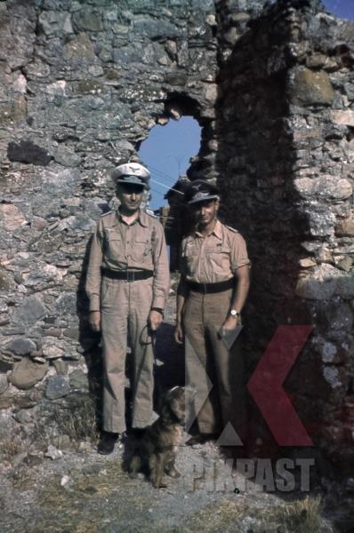 stock-photo-ww2-color-luftwaffe-field-division-2nd-lufllotte-sicily-1943-tropical-uniform-pilot-ribbon-bar-german-war-merit-cross-kvk-8514.jpg