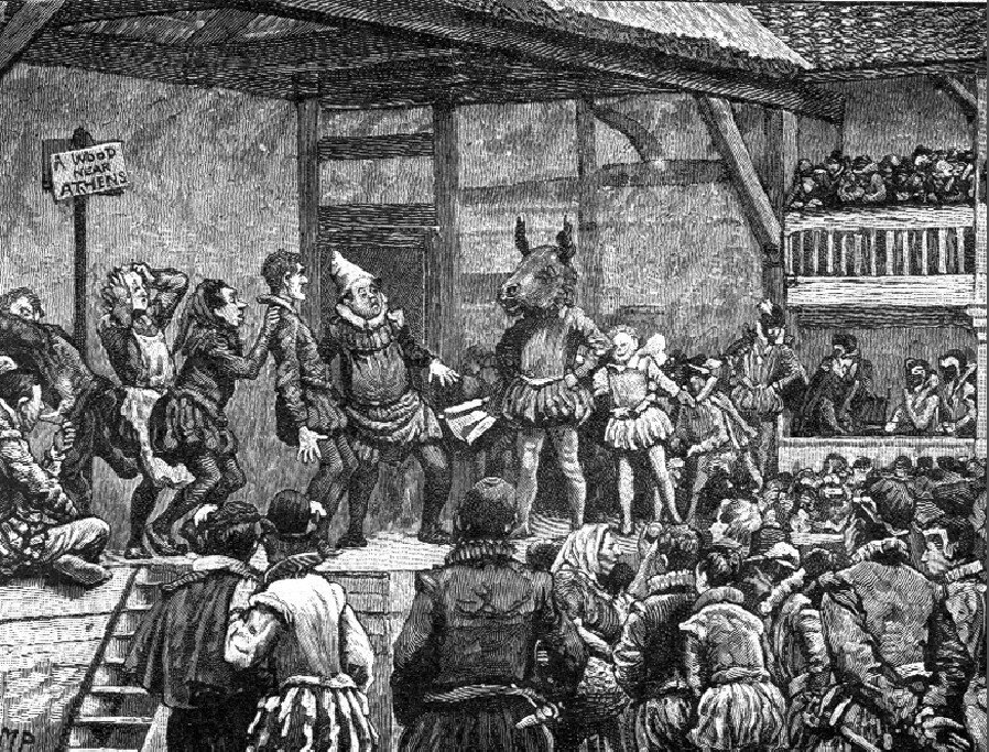 elizabethan theatre acting style Women were acting elsewhere in europe but they were not allowed to perform in public theatres in england until 1660 in an elizabethan production boys would play the.