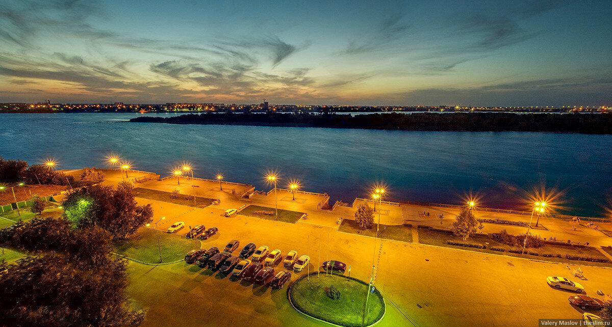 Вид с отеля Азимут