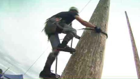 Чемпионат мира по покорению вертикальной поверхности высотой в 25 метров прошли в Англии.