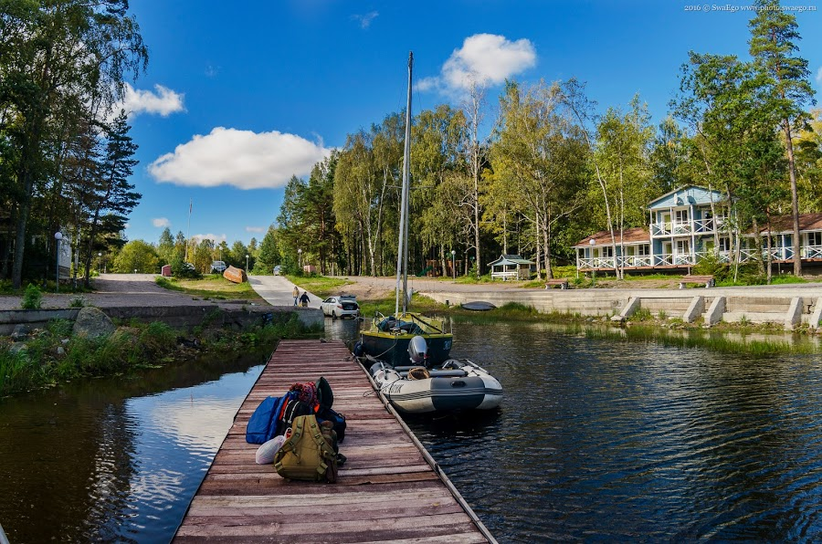 Закрытие сезона на Ладожском озере