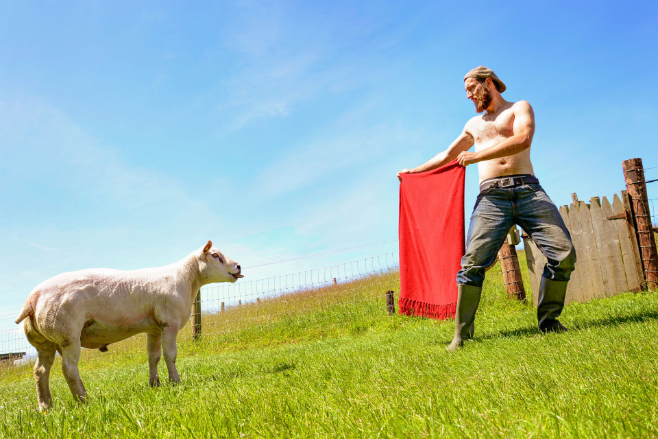 IRISH FARMERS POSE FOR SEXY CALENDAR