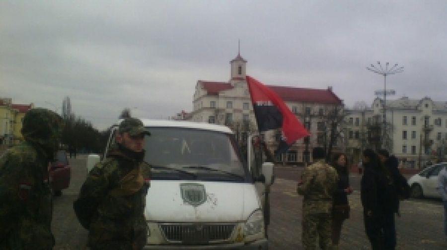Автопробег в честь Савченко в Чернигове