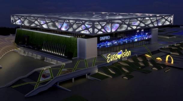 В Днепре представили проект концертной арены для Евровидения-2017 (фото, видео)