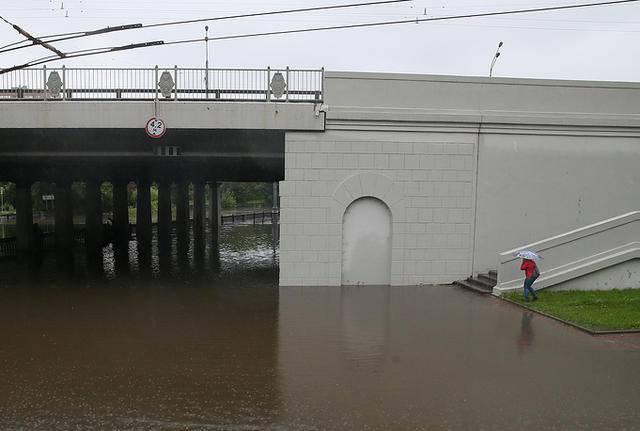 Москву затапливает в результате рекордных дождей. ФОТОрепортаж