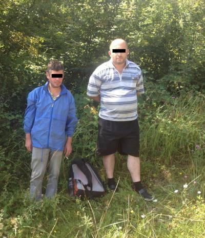 Двое граждан Грузии задержаны в горах Закарпатья при попытке нелегально проникнуть в ЕС, - Госпогранслужба. ФОТО