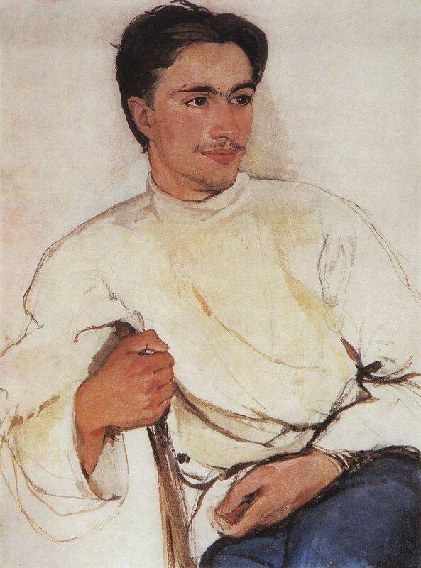 Портрет студента. 1909 год.jpg