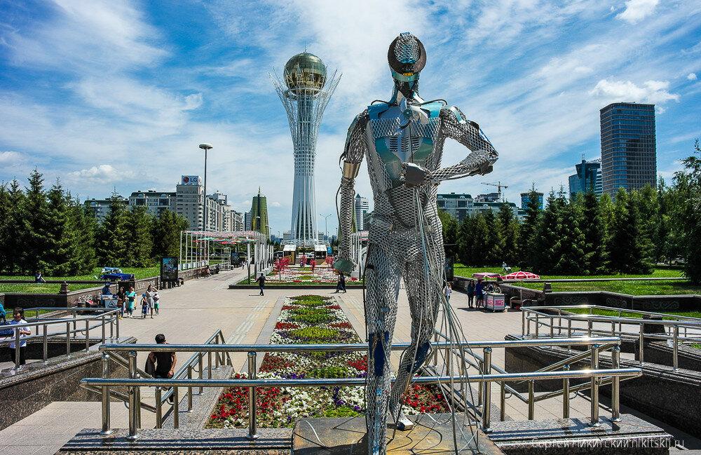 Символ нового исторического периода Казахстана