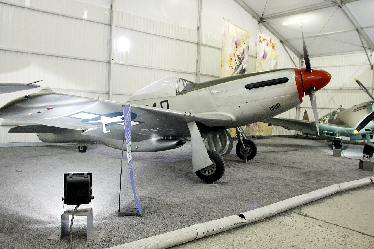 North American P-51D Mustang (Le Bourget aviation Museum)