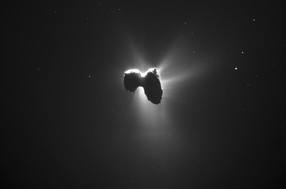 14. Нашлась пропажа. 2 сентября 2016 космический аппарат Rosetta нашёл потерянный зонд Philae н