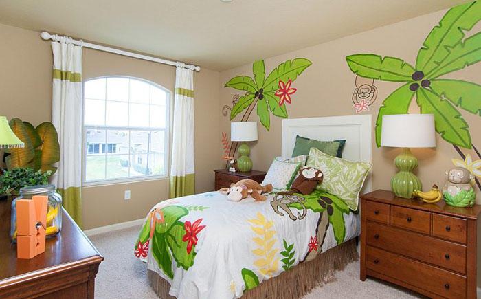 6. Яркая детская спальня от Mercedes Premier Homes